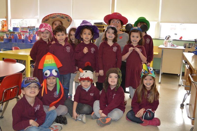 Weekly Calendar For Toddlers : Catholic schools week crazy hat day saint francis