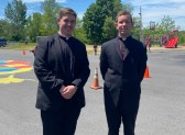 Father Ryan Healy's visit