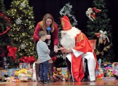 """St. Nicholas reminds us to """"Be Giving""""!"""