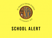 School Alert-we are safe